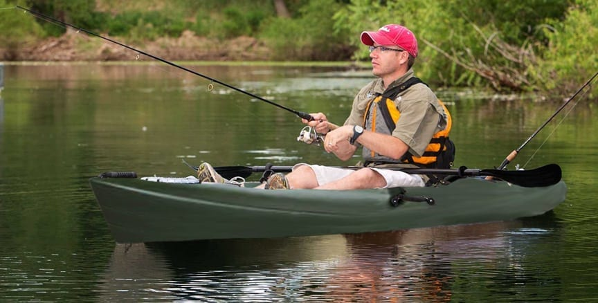 Guided Kayak Fishing tour