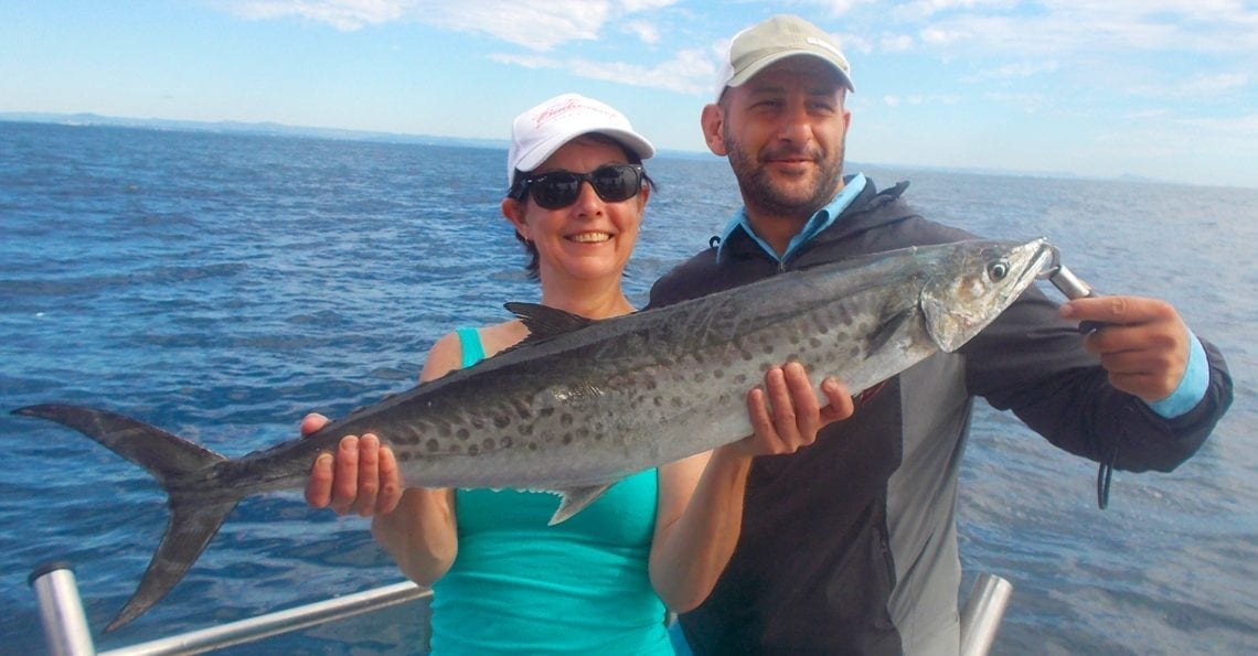 7 Hour Deep Sea Fishing result with Sunshine Coast Afloat